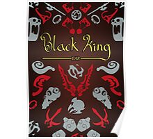 Black King Bar - 99% Cacao with Hint of Dire Poster