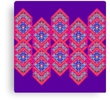 Squared Purple Canvas Print