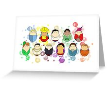 Princes & Gentlemen Greeting Card