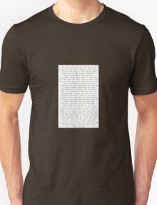 one direction fools gold lyrics  Unisex T-Shirt