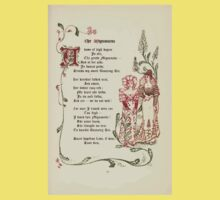 The Old Garden and Other Verses by Margaret Deland and Wade Campbell, Illustrated by Walter Crane 1894 69 - The Mignonette Kids Tee