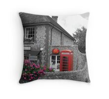 ye olde post office Throw Pillow