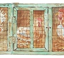 Sketchbook Exchange & Solly's Chicken Coup by Maree  Clarkson