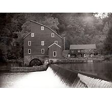 Old Mill in Clinton Photographic Print