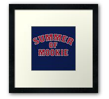Summer of Mookie - Red Sox - Mookie Betts Framed Print