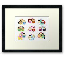 Couples of Disney Framed Print