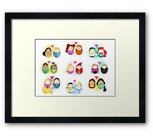 Couples of Disney Framed Print
