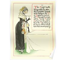 A Masque of Days - From the Last Essays of Elia 1901 illustrated by Walter Crane 30 - The King's Health Poster