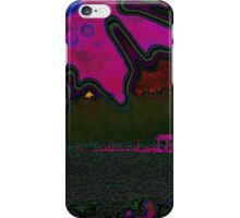 Whatcom Lake Abstract iPhone Case/Skin