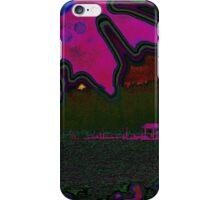 Whatcom Lake Abstract iPhone Case/Skin
