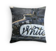 """Rusting Away"" Throw Pillow"