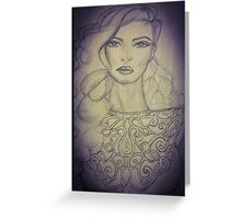 Soul within  Greeting Card
