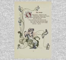 The Old Garden and Other Verses by Margaret Deland and Wade Campbell, Illustrated by Walter Crane 1894 52 - The Pansy One Piece - Long Sleeve
