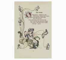 The Old Garden and Other Verses by Margaret Deland and Wade Campbell, Illustrated by Walter Crane 1894 52 - The Pansy Baby Tee