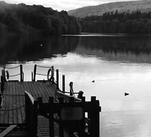 Still Waters in Black and White by calkarima