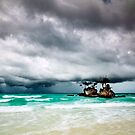 Stormy Beach, Boracay, Philippines by James Deypalan