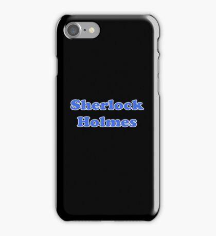 Sherlock Holmes Sticker - Conan Doyle T-Shirt iPhone Case/Skin