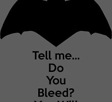 Batman - Do You Bleed? by AvatarSkyBison