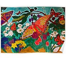 Butterflies are free Poster