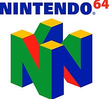 Nintendo 64 swak by Olivia Edginton