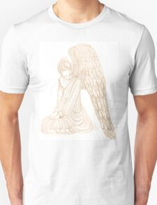 Weeping Stone Angel of Sorrow Unisex T-Shirt