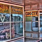 Connelly Bros Grocery Shop. by Ian Ramsay