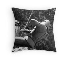 my knight in shining armour Throw Pillow
