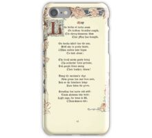 The Old Garden and Other Verses by Margaret Deland and Wade Campbell, Illustrated by Walter Crane 1894 81 - May iPhone Case/Skin