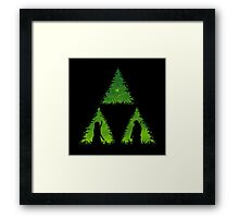 The Forces Glows Within Framed Print