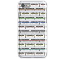 Monorail Fleet iPhone Case/Skin
