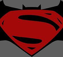 Batman v Superman by AvatarSkyBison