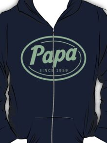 """Papa since 1959"" Collection #41040 T-Shirt"