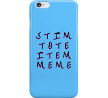 Stim Tote Item Meme – 2 iPhone Case/Skin