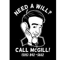 Better Call McGill Photographic Print