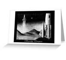 Starship Troopers Greeting Card
