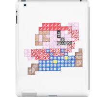 Zentangle Mario iPad Case/Skin