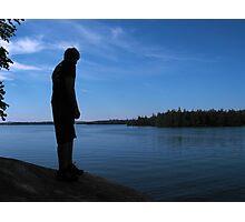 Squam Lake Lookout Photographic Print