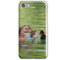 Mamma Mallard iPhone Case/Skin