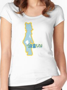 Rin Kagamine Ripple Women's Fitted Scoop T-Shirt