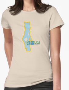 Rin Kagamine Ripple Womens Fitted T-Shirt