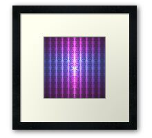 Happy Birthday From The Infinite One Offset | Future Art Fashion Framed Print