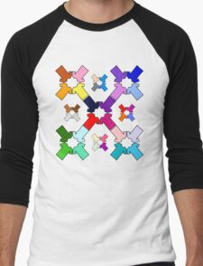 Rainbow Tees Men's Baseball ¾ T-Shirt