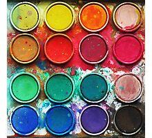 Paintbox Color Palette Photographic Print