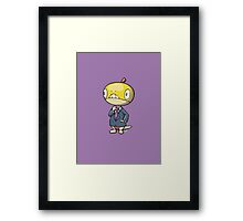Spiffy - Business Scraggy (cel shaded) Framed Print
