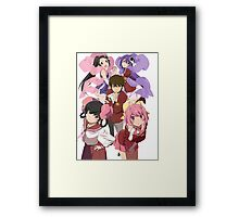 The World God Only Knows {Group Photo #1} Framed Print