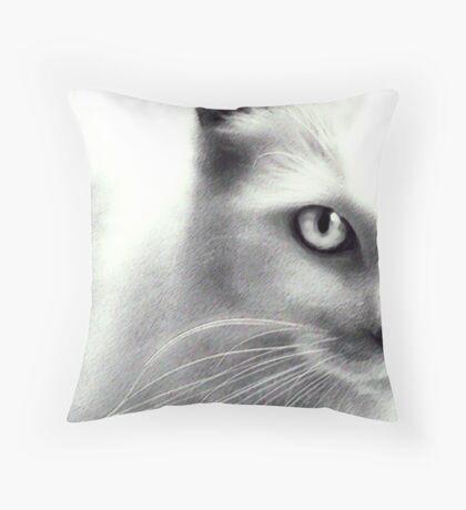Wannabe Cougar Throw Pillow