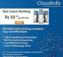Web hosting company in Chennai, domain name Registration Company by CloudInfo