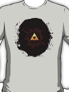 Zelda Triforce Gold T-Shirt