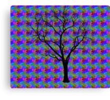 Hallucinatory Tree of Knowledge Canvas Print