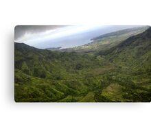 Kauai Valley Canvas Print